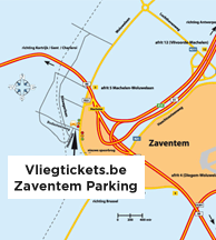 Route Zaventem Quick Parking